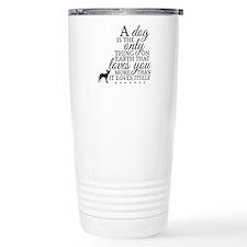 A Dog's Love Thermos Mug