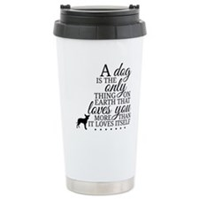 A Dog's Love Travel Mug