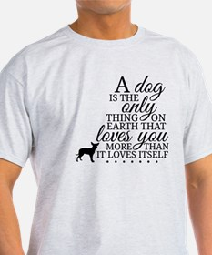 A Dog's Love T-Shirt