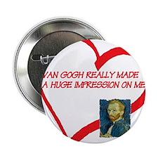 "I Love Van Gogh 2.25"" Button"