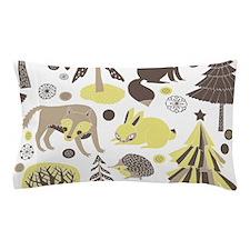 Woodland Animals Pillow Case
