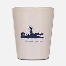 T-Rex Backstroke Shot Glass