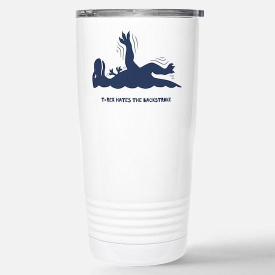 T-Rex Backstroke Stainless Steel Travel Mug