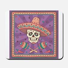 Mexican Skull Mousepad