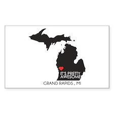 Grand Rapids - Sticker (rectangle)