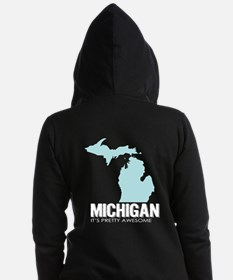 Funny Central michigan Women's Zip Hoodie