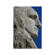 George Washington Mount Rushmore Rectangle Magnet