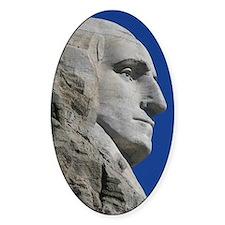 George Washington Mount Rushmore Decal