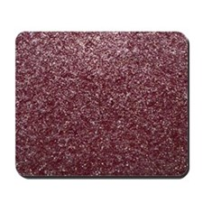 Red Glitters Mousepad