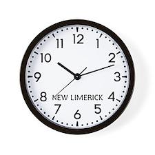New Limerick Newsroom Wall Clock