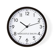Newcastle Emlyn Newsroom Wall Clock