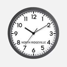 North Ridgeville Newsroom Wall Clock