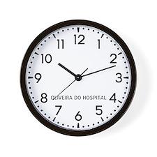 Oliveira Do Hospital Newsroom Wall Clock