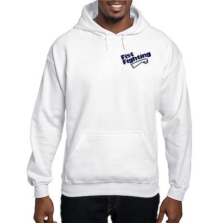 Fist Fighting / Mego Logo Hooded Sweatshirt