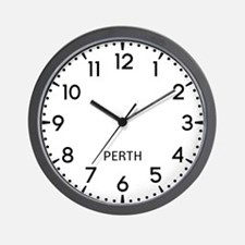 Perth Newsroom Wall Clock
