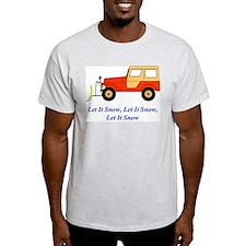 Let It Snow Plow T-Shirt