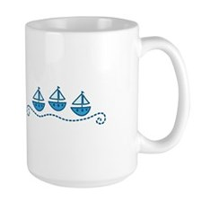 Sailboats Mugs