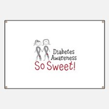 Diabetes Awarness So Sweet Banner