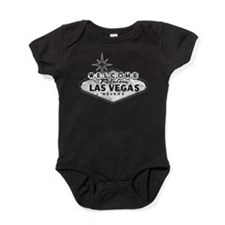 Welcome To Las Vegas Sign Baby Bodysuit