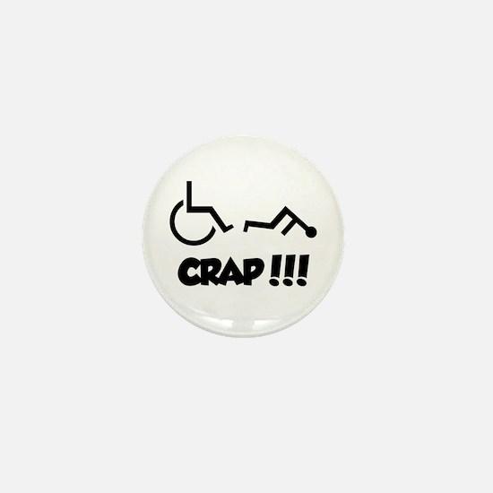 Unique Wheelchair Mini Button