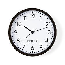 Reilly Newsroom Wall Clock