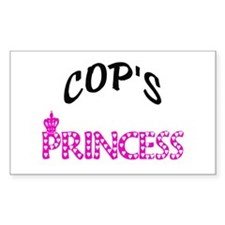 COP's Princess Rectangle Decal