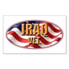 Iraq Vet Decal