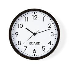 Roark Newsroom Wall Clock