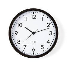 Ruf Newsroom Wall Clock