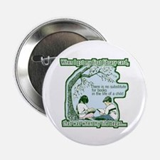 """No Substitute For Books 2.25"""" Button (10 pack)"""