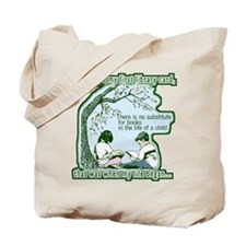No Substitute For Books Tote Bag