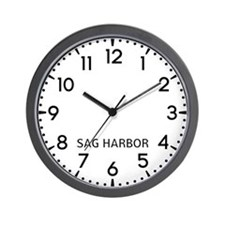 Sag Harbor Newsroom Wall Clock