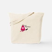 Pedi Princess Tote Bag