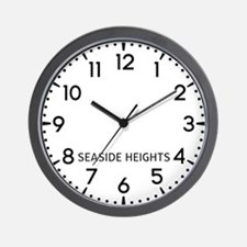 Seaside Heights Newsroom Wall Clock