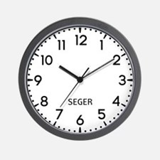 Seger Newsroom Wall Clock