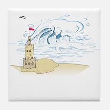 Sand Castle Tile Coaster