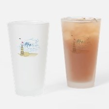 Sand Castle Drinking Glass