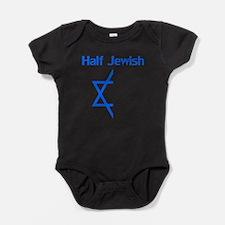 Half Jewish Baby Bodysuit