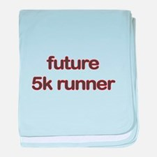 Future 5k Red baby blanket