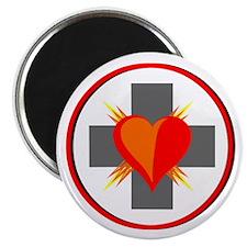 CIRLCE CROSS HEART SYMBOL