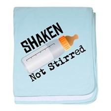 Shaken Not Stirred baby blanket