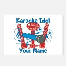Personalized Karaoke Postcards (Package of 8)