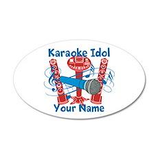 Personalized Karaoke Wall Decal