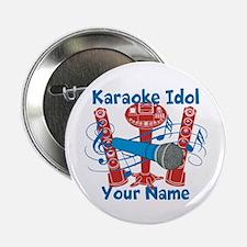 "Personalized Karaoke 2.25"" Button"