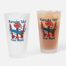 Personalized Karaoke Drinking Glass