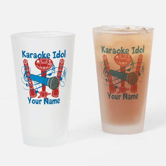 Personalized Karaoke Drinking Glass