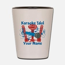 Personalized Karaoke Shot Glass