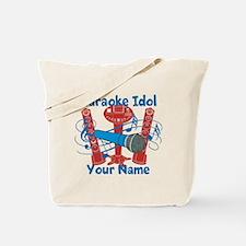 Personalized Karaoke Tote Bag
