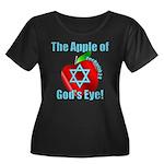Apple God's Eye Women's Plus Size Scoop Neck Dark