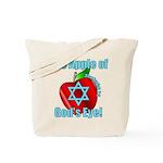 Apple God's Eye Tote Bag